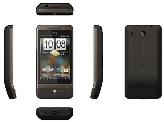 HTC Hero Marron